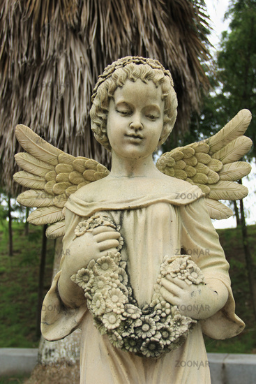 Girl Angel Sculpture