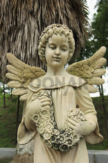 Girl Angel Sculpture