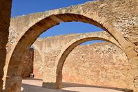 Rethymno Fortezza fortress arcade