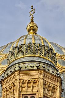 golden star of david an the synagogue Berlin