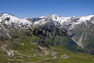 Grossglockner Hochalpenstrasse, Nationalpark Hohe Tauern, Kaernten, Oesterreich, Grossglockner High Alpine Road, Carinthia, Austria