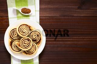 Homemade Cocoa Rolls