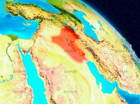 Iraq on Earth