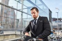 Berufspendler sucht Fahrrad Schlüssel