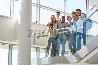 Studenten als erfolgreiches Team