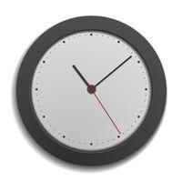 simple modern clock