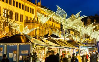 Weihnachtsmarkt in Wiesbaden (Dezember 2016)