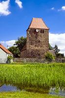 Dorfkirche Garzin, Amt Märkische Schweiz, Brandenburg, Deutschland