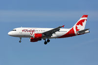 Air Canada Rouge Airbus A319 Flugzeug
