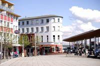 Vorplatz Bahnhof Rüsselsheim