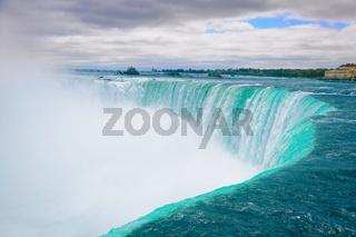 Beautiful Niagara falls.