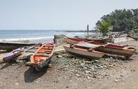 Fischerdorf Ribeira Afonso, Sao Tome, Afrika