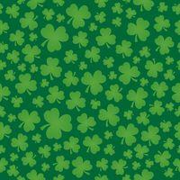 Three leaf clover seamless background 6