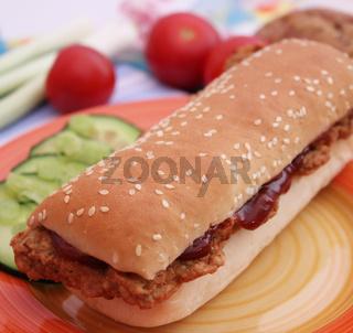 Rib Burger