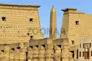 Egypt Luxor Temple First Pylon
