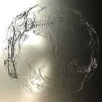 Digital 3D Illustration of creepy Skulls