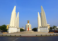 Democracy Monument in Bangkok, Thailand