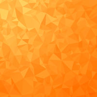 Orange Polygonal Background. Triangular Pattern. Low Poly Texture. Abstract Mosaic Modern Design. Origami Style