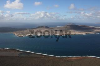 Lanzarote, Blick auf La Graciosa