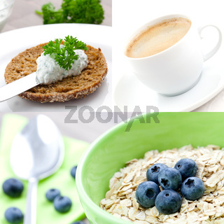 gesundes Fruehstueck / healthy breakfast