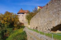 Bautzen Stadtmauer- town wall in Bautzen, Upper Lusatia