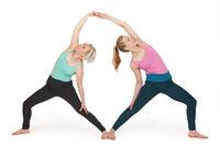Yoga-Frauen Position 170