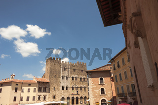 Massa Marittima, Gebäude der Renaissance, Toskana, Italien