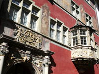 Haus zum goldenen Ochsen,Altstadt Schaffhausen,Schweiz