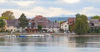 Blick vom Seerhein zum Paradies, Konstanz