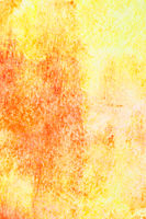 Yellow hand-drawn watercolor background