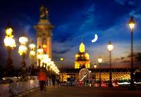 Bridge Alexandre in Paris