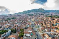 Castilla district  Medellin  aerial view