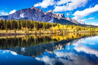 Canmore, near Banff