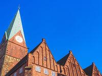 Kirche St. Martini in der Bremer Altstadt, Deutschland