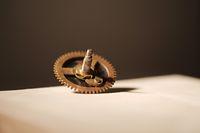 Small old cogwheel