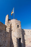 Old fortress in Spanish Llagostera