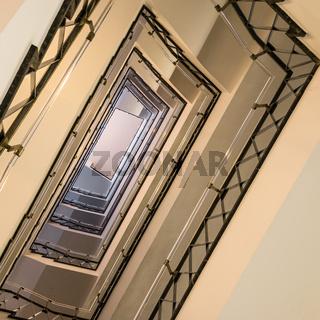 Treppenhaus aus den Fünfziger Jahren