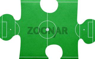 Fußball Puzzle