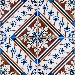 Old tiles detail
