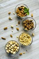 Nut Assortment Whole Foods Walnuts Pine Nuts Pistachios Almonds