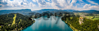 Slovenia - Panorama resort Lake Bled.