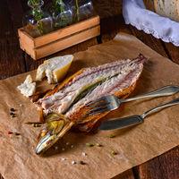 tasty smoked mackerel