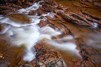 Der Fluss Ilse im Harz