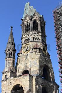 Turm der Gedächtniskirche in Berlin