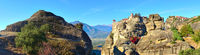 Panorama of the Meteora