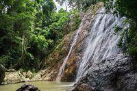 Na Muang Waterfall on Koh Samui, Thailand