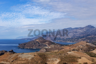 Blick nach Plakias - Kreta
