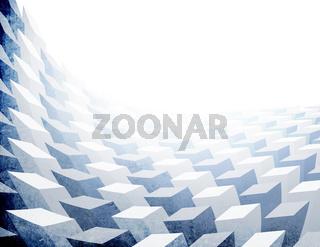 Vintage 3D background  (letter format, horizontal orientation)
