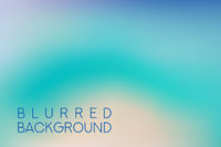 horizontal wide blue green turquoise sea blurred background. Sunset and sunrise sea blurred background