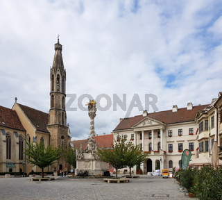 Historical building in center of Sopron
